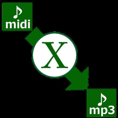 MIDIファイルをMP3に変換する方法を紹介